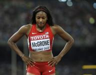 Indy Olympic hopeful Candyce McGrone has traveled a rough road
