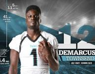 Gulf Coast back DeMarcus Townsend flying up recruiting boards
