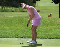 Skidmore and Carafiello tied for Women's Met Open lead