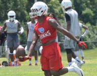 Top recruit JaCoby Stevens hobbled, Oakland repeats 7-on-7 title