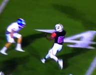 VIDEO: Bishop Gorman won the matchup, but Cedar Hill star Marquise Foreman had the play of the night