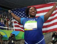 Athlete Look Back: USA gold medalist Michelle Carter