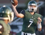 Spencer Blackburn accounts for five TDs as Trinity smashes Ballard