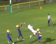 VIDEO: Florida freshman receiver's Odell Beckham Jr.-esque catch