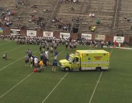 Five-star Georgia commit Richard LeCounte taken off field in ambulance, claims to be fine