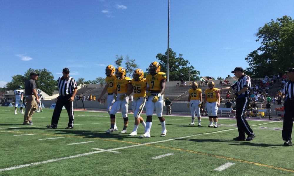 Lakewood St. Edward captured its first win of the season on national TV against Pennsylvania power Pine-Richland (Photo: Twitter)