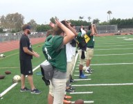 What is with all the gyrating on the St. John Bosco (Calif.) sideline?