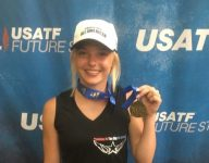 Crawford County's Haylea Crandall sets bar high with Junior Olympic gold