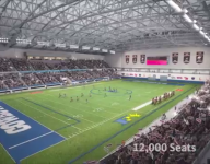 Debut of high school football at Dallas Cowboys' new $1.5B facility is a sellout