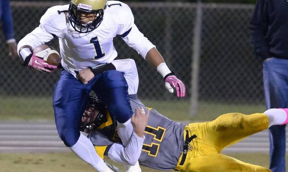 Northern Vance was ruled ineligible from the N.C. playoffs for ejections in a fight with Warren County (Photo: Twitter)