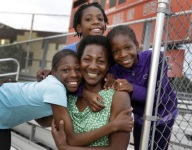 Three sisters living in a Brooklyn homeless shelter all qualified for the Junior Olympics