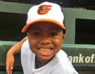 9-year-old who had double hand transplant throws first pitch at Orioles game