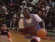 WATCH: Pa.'s Talek Williams goes 360 between the legs to win Big Strick dunk contest
