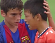 FC Barcelona youngsters prove that 12-year-olds are better sports than adults