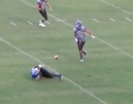 VIDEO: Interlachen's Daniel Perez executes incredible lateral INT to spark TD return in Fla.