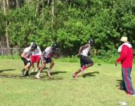 First day of football practice in SWFL