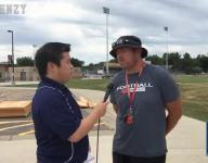 Video: Brandon Valley football practice