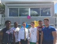 Ossining christens new bleachers, press box after securing $230,000 grant