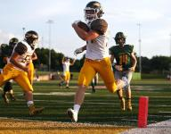 Kickapoo romps Parkview in first step of title defense