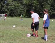 Video: Albertus Magnus girls soccer practice