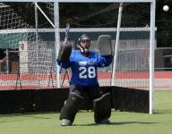 So who wants to be a field hockey goalie?