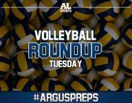 #ArgusPreps Volleyball Roundup