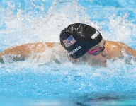 Olympic swimmer Cammile Adams returns to Texas as student teacher