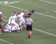 VIDEO: Michigan freshman goes Beast Mode twice in one touchdown run