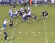 VIDEO: Georgia running back breaks all the tackles en route to end zone