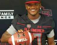 VIDEO: Under Armour All-American DeAngelo Gibbs was a beast at receiver in junior high