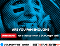 Vote for nation's Best Fan Ever for chance to win $1,000