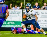 DeWitt moves into latest high school football state poll
