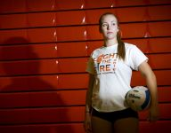 Skills honed in the sand come indoors for Sprague's Lindsey Grossman