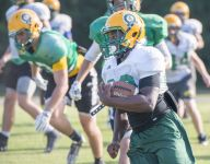 Catholic hosts crucial district game