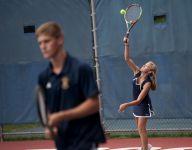 Anna Raffaelli thriving on Owosso's boys varsity tennis team
