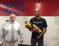 Cavaliers' Richard Jefferson brings NBA championship trophy to high school alma mater