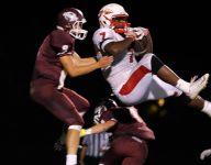 Sexton overcomes early turnovers, downs Okemos, 20-7