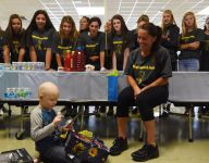 John Jay team 'adopts' 5-year-old fighting cancer