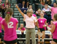 Lakeview 'Digs Pink' as coach reflects on cancer scare