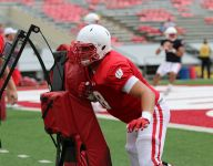 Former Northville star David Moorman glad he chose football, Wisconsin