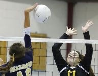 Strong defense leads Padua volleyball past DMA