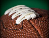 Rain forces change in football schedule