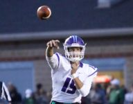 HS football: Hunter Johnson tosses 5 TDs to lead Brownsburg past Zionsville