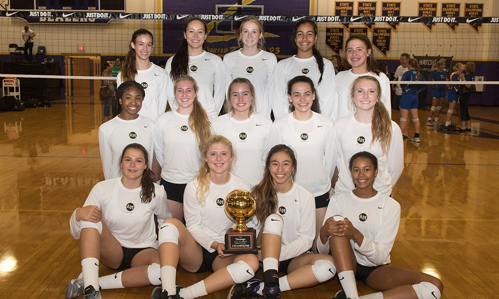 Archbishop Mitty Calif Girls Volleyball Wins Durango Fall Classic Usa Today High School Sports