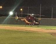 The Texas A&M SwagCopter is back stealing the spotlight on Friday night