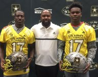 Teammates Joseph Lewis, Greg Johnson excited to receive Army All-American Bowl jerseys together