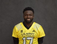 Iowa commit Eno Benjamin receives Army All-American jersey to open Selection Tour