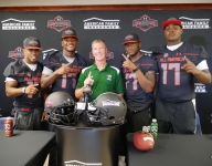Four Grayson (Ga.) stars get their honorary Under Armour All-America Game jerseys