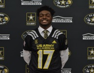 Deron Irving-Bey receives Army All-American jersey: 'All I knew was the grind'