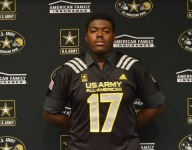 Georgia commit Andrew Thomas offers heartfelt appreciation at Army All-American ceremony